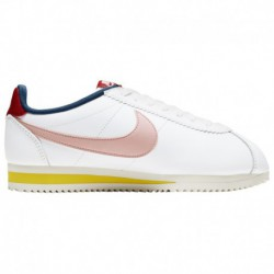 Nike Classic Cortez Coral Stardust Nike Classic Cortez - Women's Summit White/Coral Stardust/Gym Red | Leather